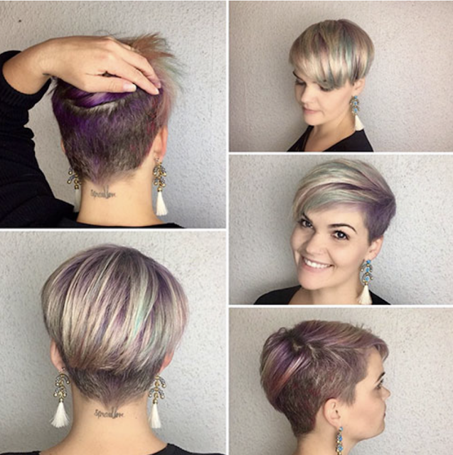 short spiky pixie haircuts with bangs