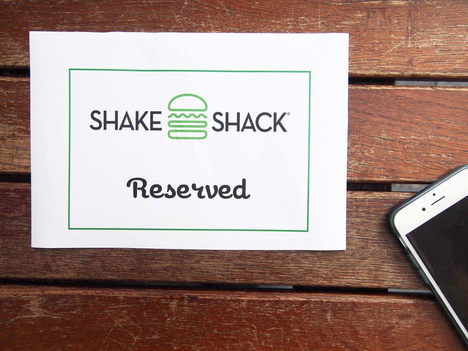 Major Oak Burger - Shake Shack