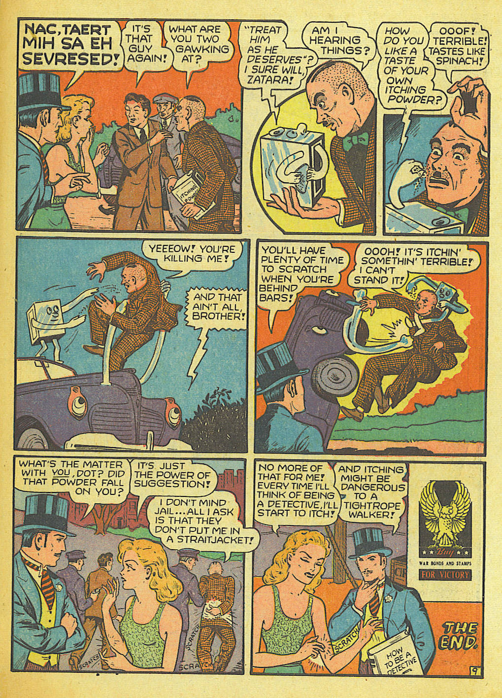 Read online Action Comics (1938) comic -  Issue #58 - 55