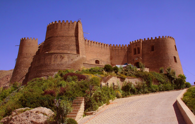 Falak ol Aflak castle and its high towers.