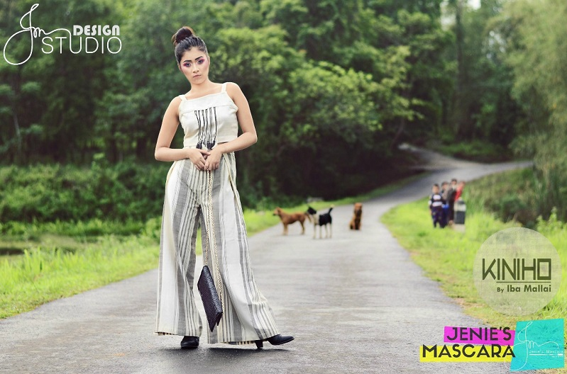 A Photo-shoot of Kiniho Clothing from Meghalaya by JM Design Studio
