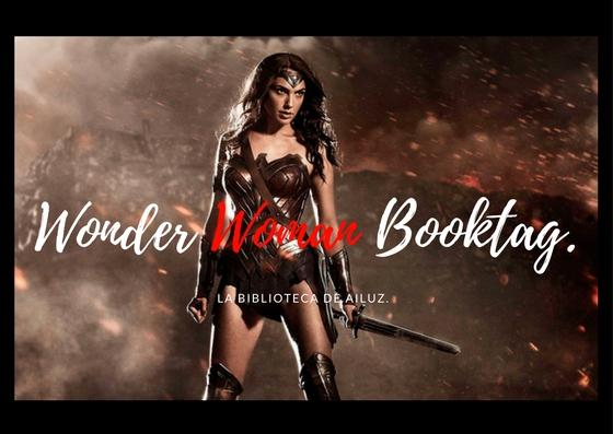 Wonder Woman Booktag.