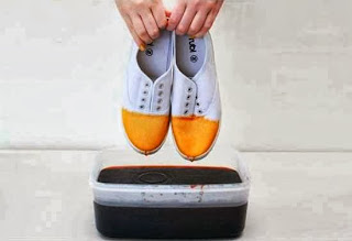 Kreasi Kerajinan Tangan, Mewarnai Sepatu Sendiri 3