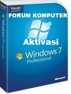 Cara Aktivasi Windows 7 All Version Menjadi Genuine