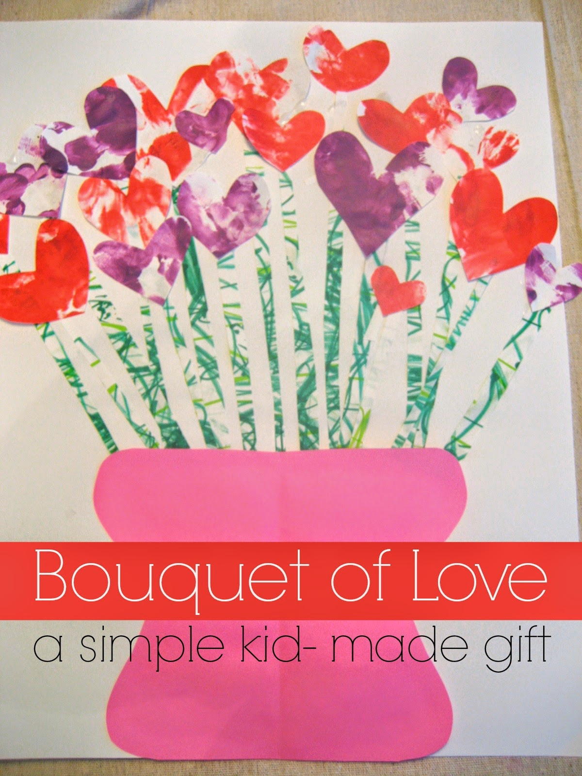 Toddler Approved Bouquet Of Love