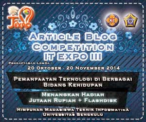 IT EXPO III Himatif-unib