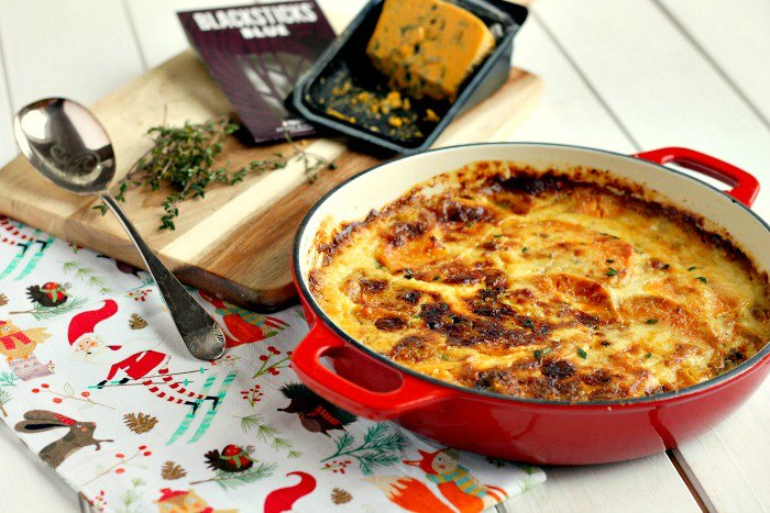 Sweet Potato and Blue Cheese Dauphinoise