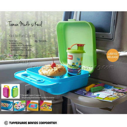 Kiddie Fun Box ~ Katalog Tupperware Promo Juni 2016