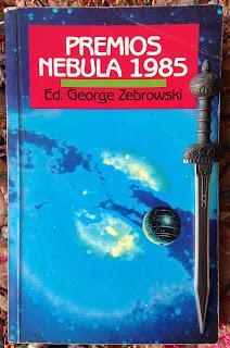 Portada del libro Premios Nebula 1985, de varios autores