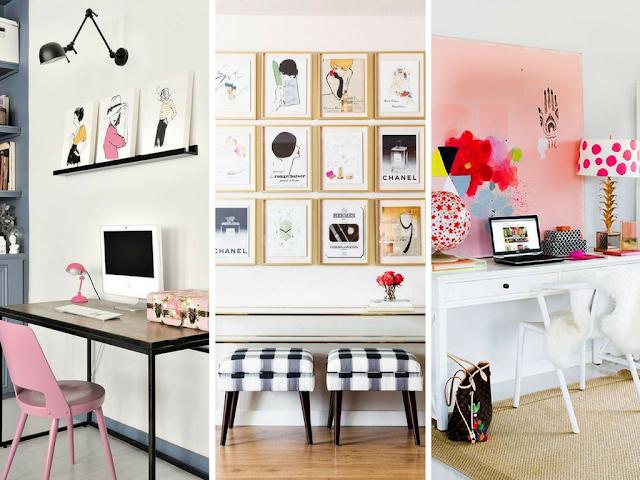 Home Office - Escritórios Girly
