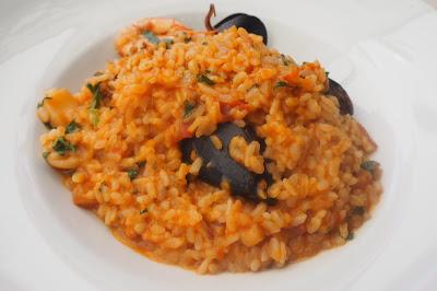 Food, dining, Dubrovnik, Croatia, Food blog, Seafood Risotto, Konavoka