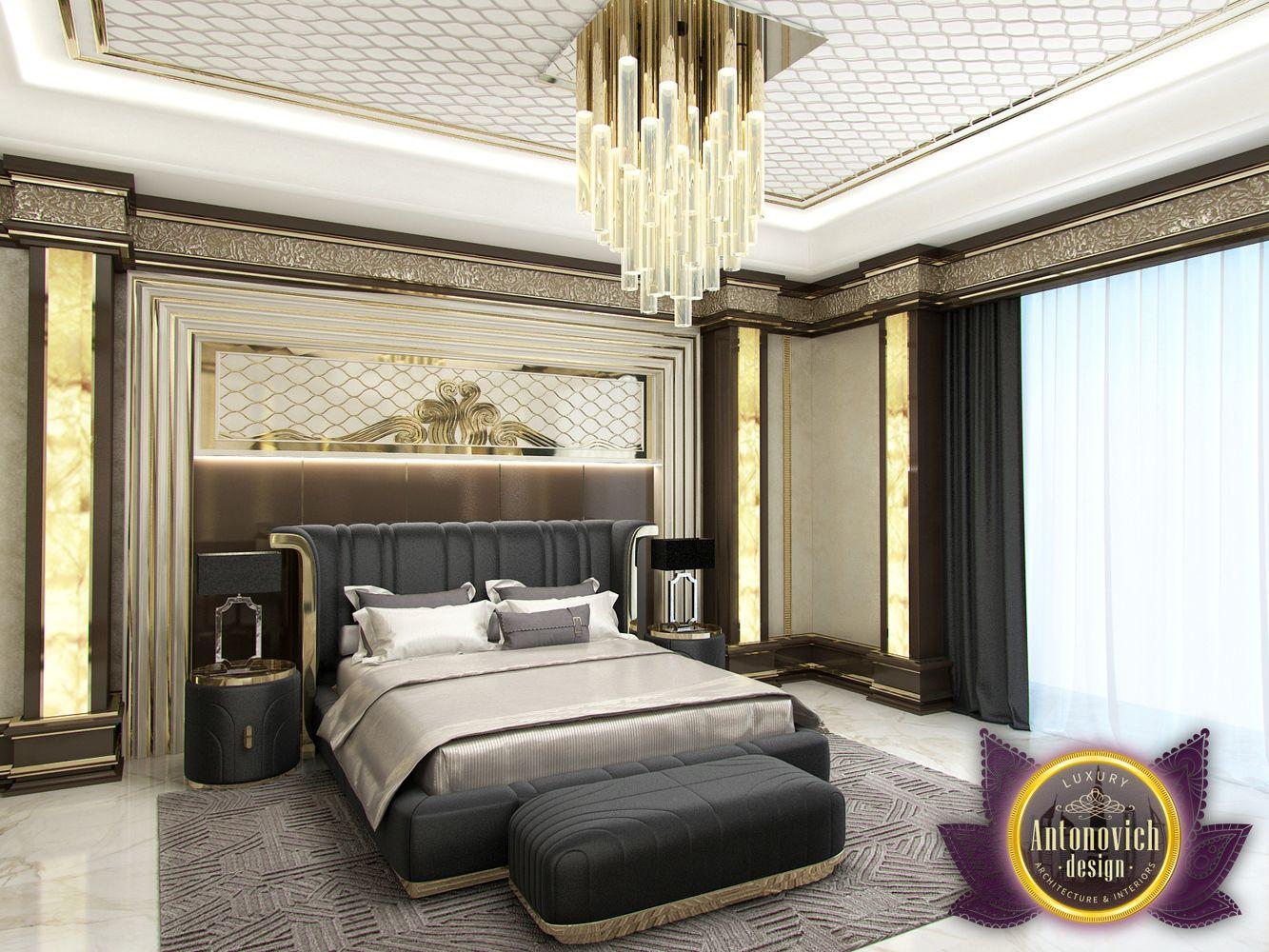 LUXURY ANTONOVICH DESIGN UAE: Master Bedroom in Modern ...