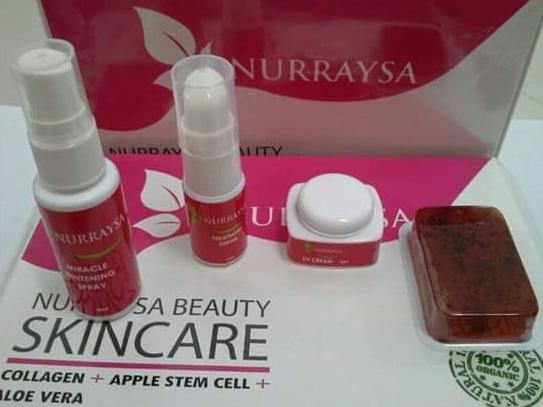 nurraysa beauty skincare stokis