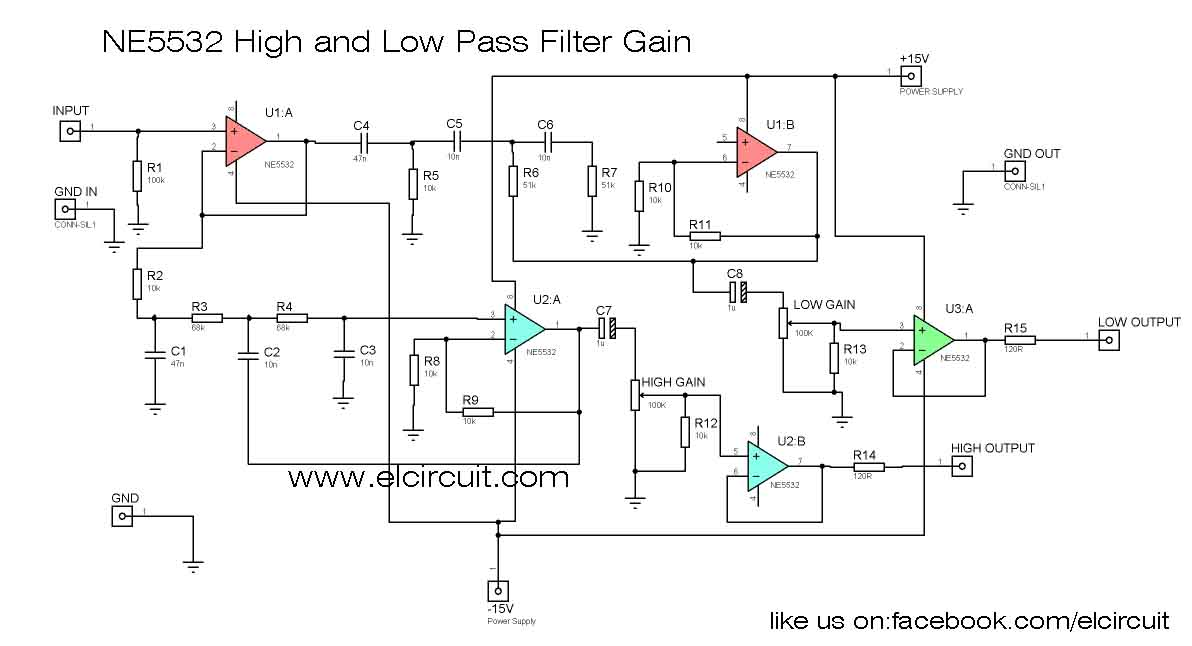 Peachy Ne5532 High And Low Pass Output Filter Circuit Electronic Circuit Wiring 101 Capemaxxcnl