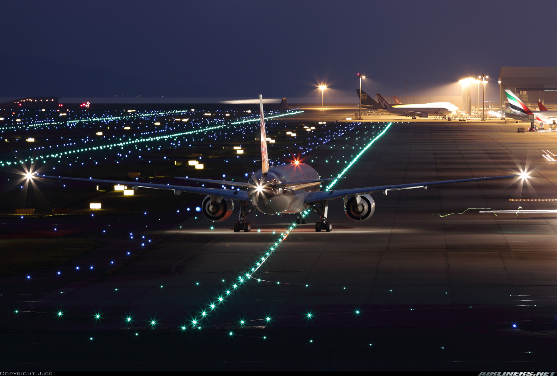 رموز الأضواء في الطائرة مدونة