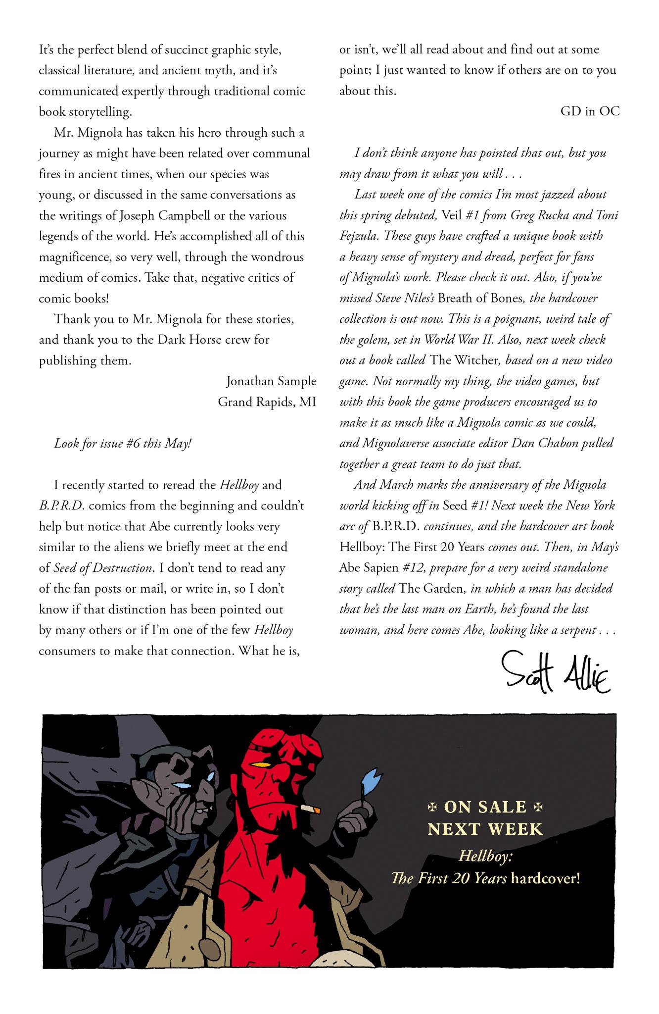Read online Abe Sapien comic -  Issue #11 - 27