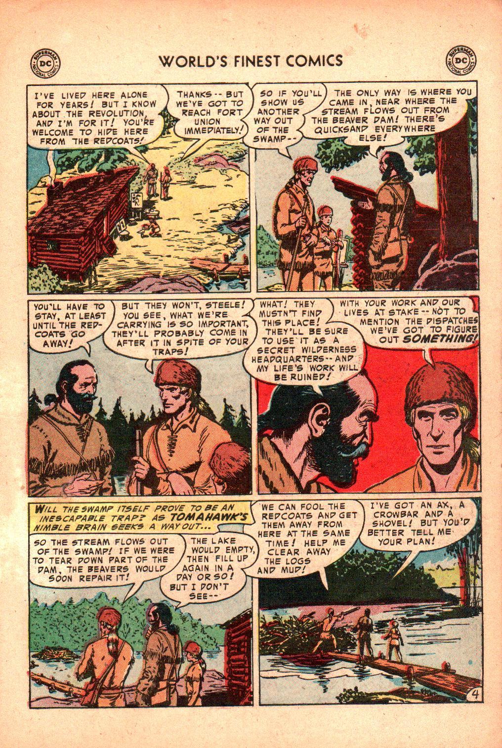 Read online World's Finest Comics comic -  Issue #71 - 33