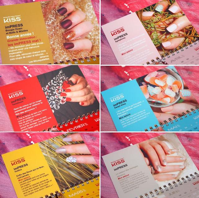 Impress KISS Product - Calendrier Blog beauté Les Mousquetettes