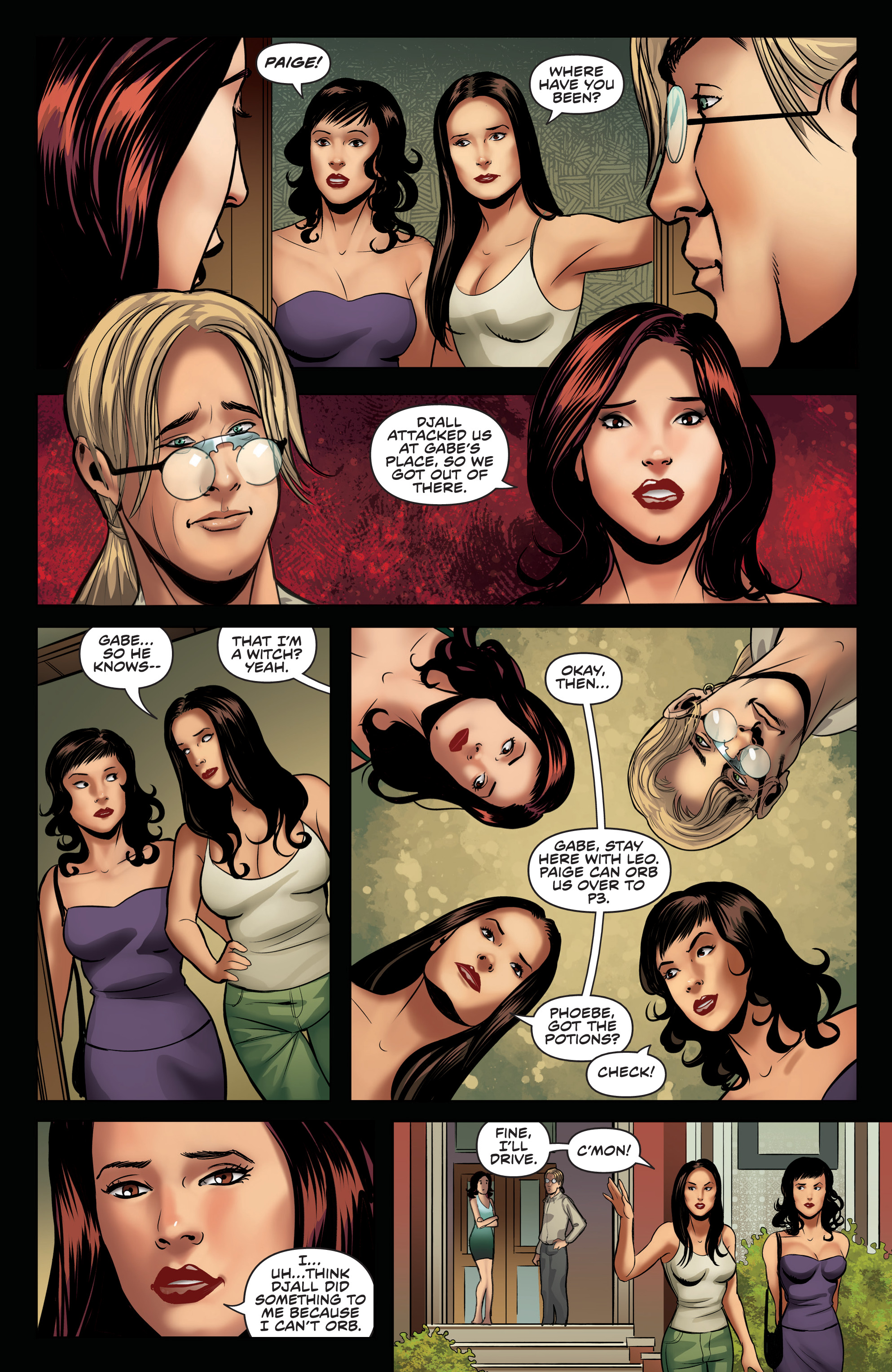 Read online Charmed (2017) comic -  Issue #4 - 19
