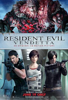 Resident Evil: Vendetta, il poster