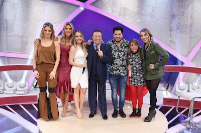 Sheila, Ciça, Thaeme, Raul, Thiago, Marcela Tavares e Naty Graciano (Crédito: Rodrigo Belentani)