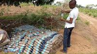 Construcción con botellas de plástico