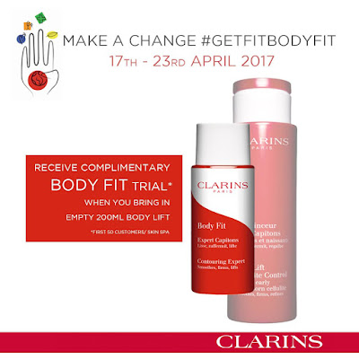 Clarins Body Fit Free Sample Giveaway