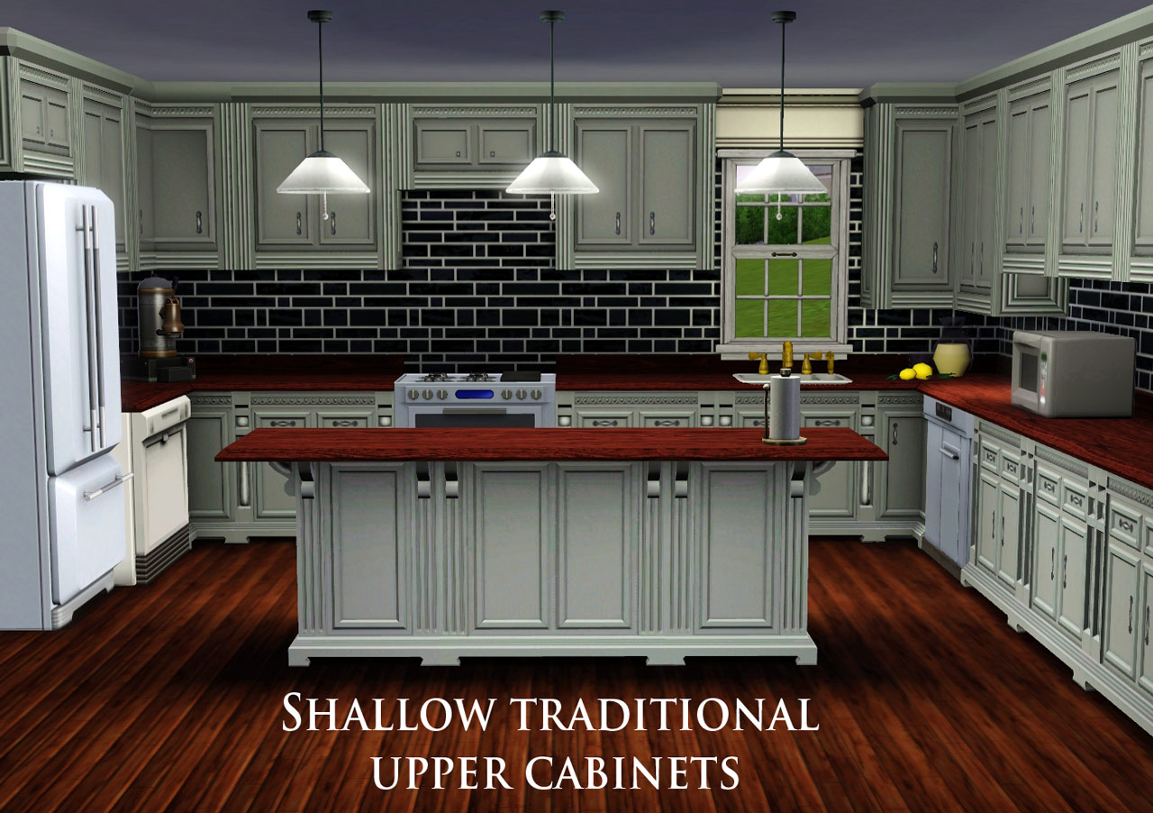 sims 2 kitchen cabinets beautiful wallpapers shallow traditional wall cabinet by 26141