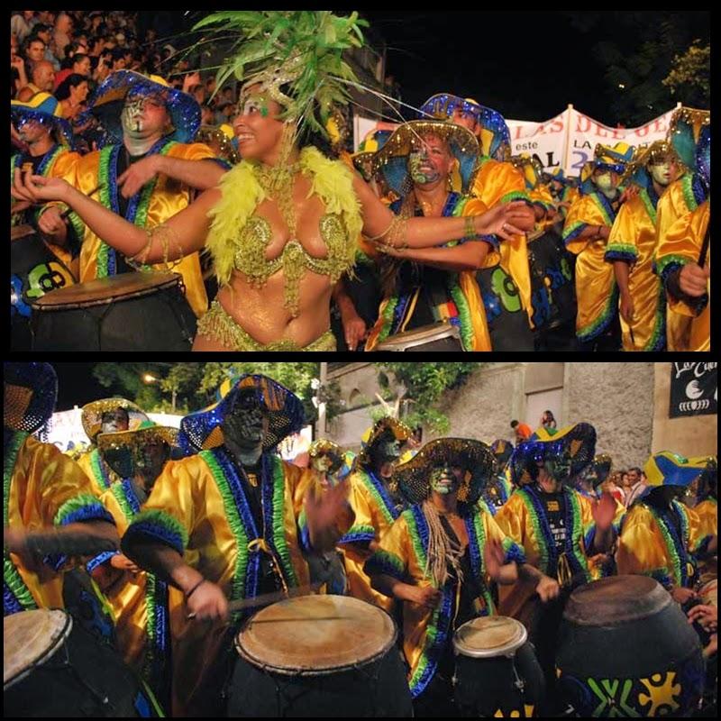 Carnaval. Desfile de Llamadas. Montevideo.La Jacinta. 2010.