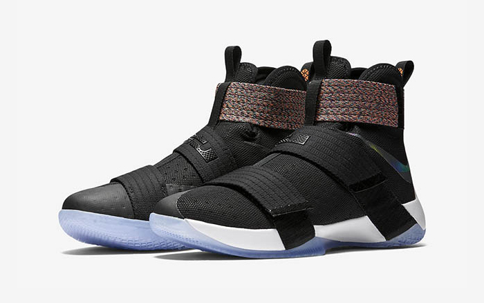 huge discount 3c1e7 203f7 Iridescent Nike LeBron Soldier 10 Release Date 844375-085 Official Images