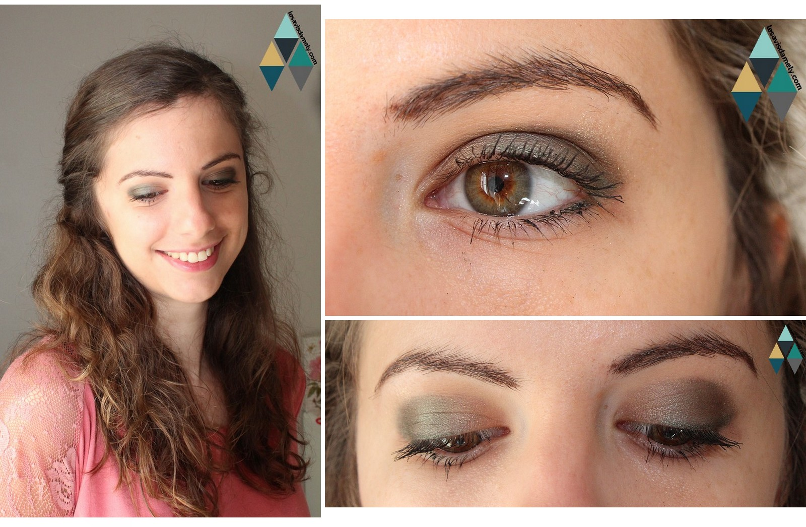 comment porter la couleur verte en maquillage ?