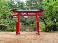 千束八幡神社鳥居