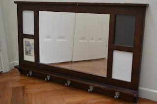 Nifty Thrifty Amp Thriving Mirrored Shelf Redo