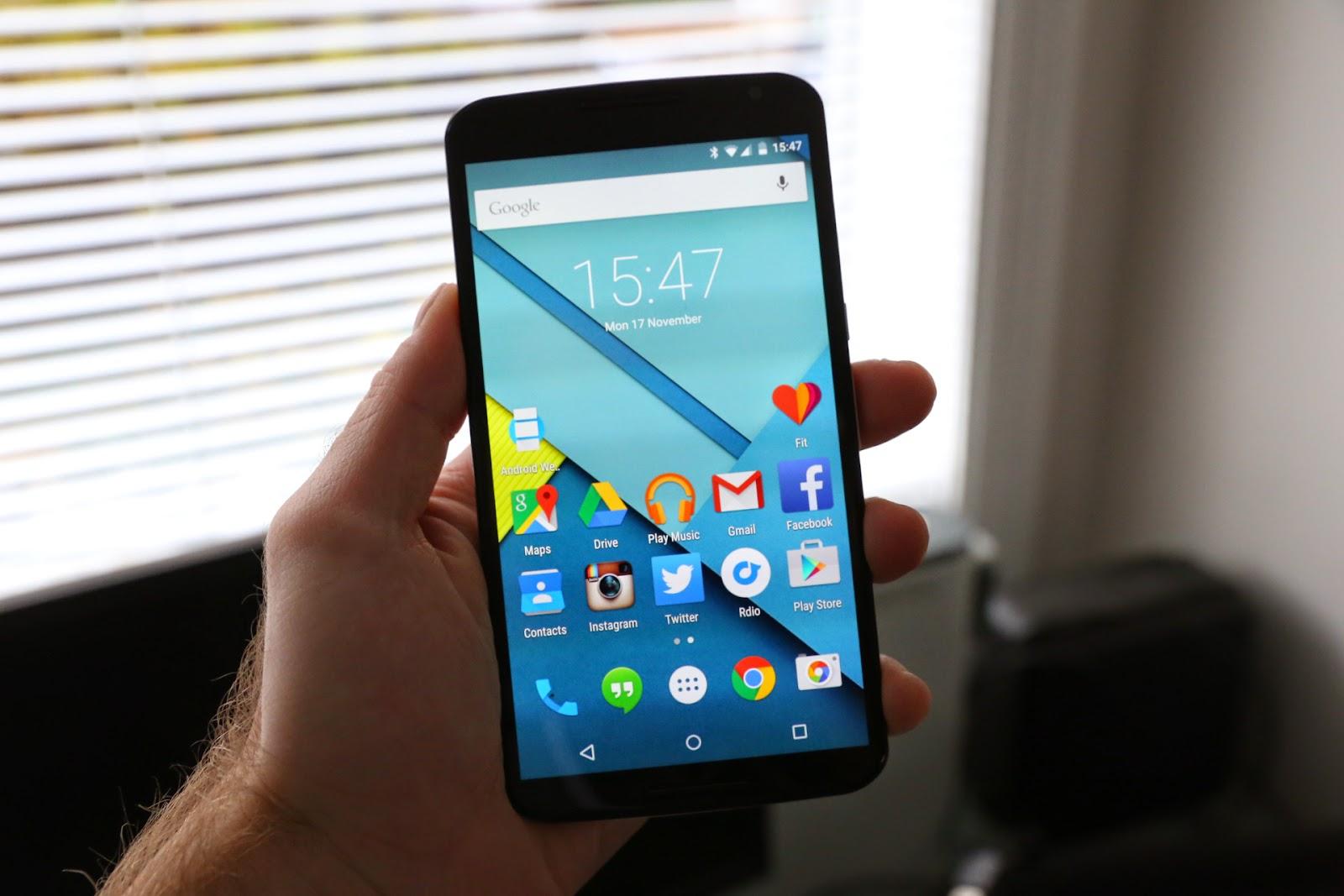 contenuto della confezione del Nexus 6