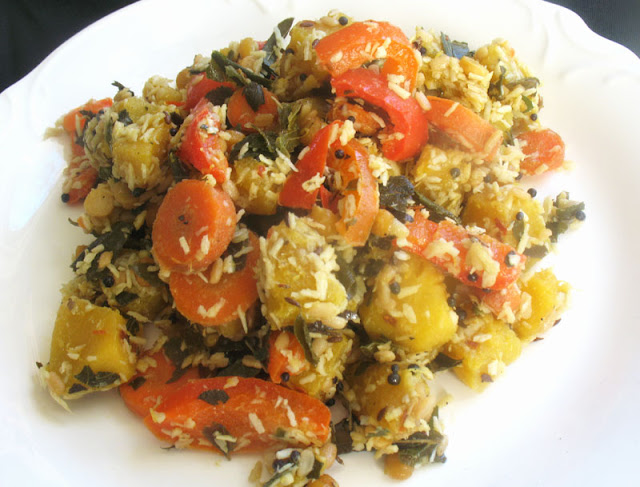 Indian Squash Poriyal