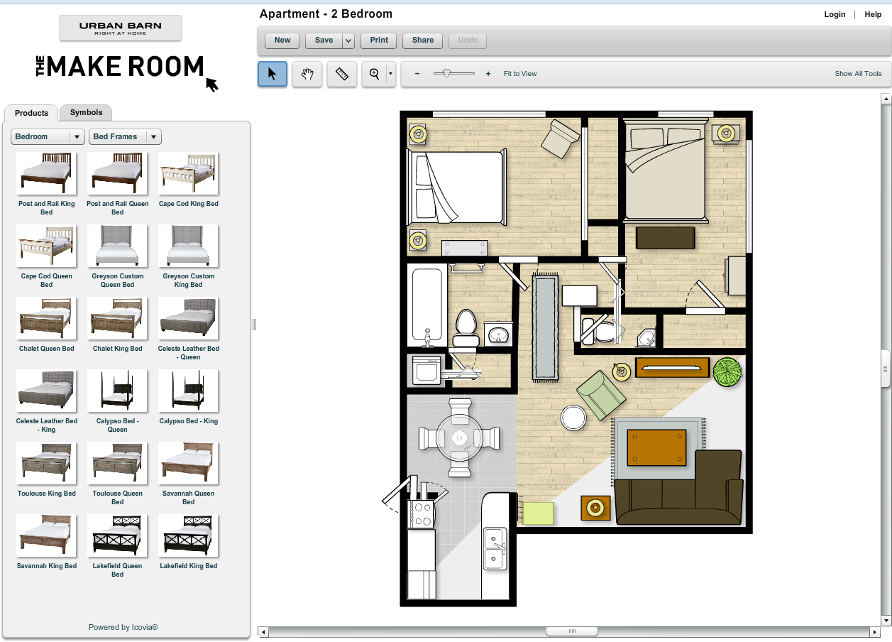 2d Room Planner 線上免費室內裝潢設計軟體:你也能輕鬆畫出夢想居家設計圖