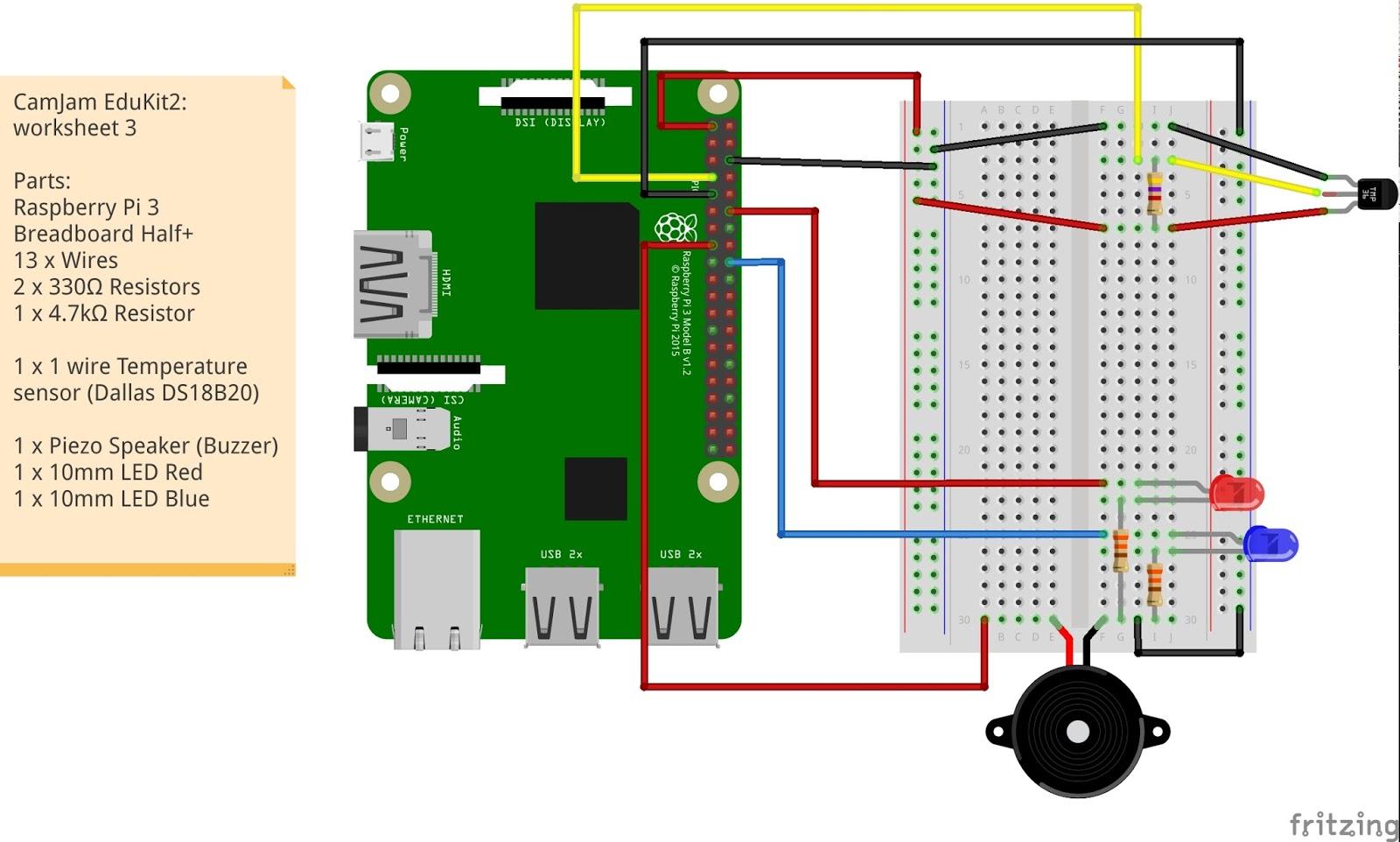 Bit Of Raspberry Pi And Arduino Camjam Edukit 2 Ds18b20 Wiring Diagram