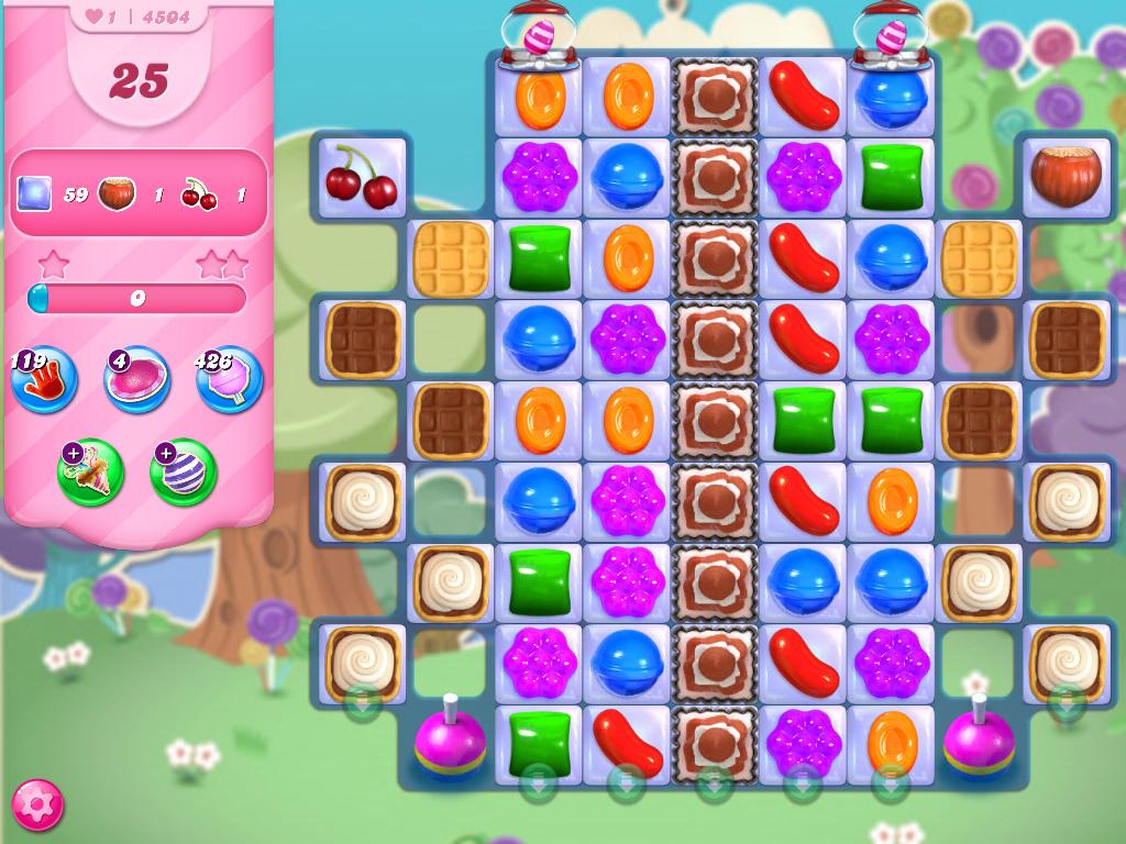 Candy Crush Saga level 4504