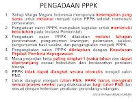 Berikut Syarat - Syarat Bisa Melamar menjadi PPPK