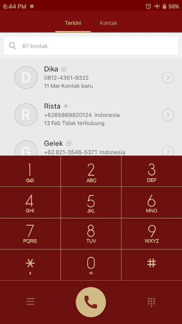 Dialpad Tema Xiaomi Iron Man Invisible MTZ