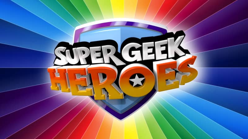 , Super Geek Heroes Review and Competition to Win a Free 6 Month Subscription to KidsCast APP