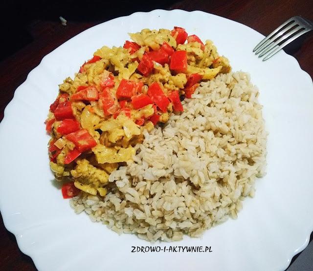 Kurczak curry słodko kwaśny