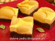 Hruškový koláč s tvarohom - recept