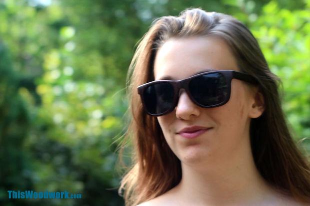 25cc7832f إصنع نظارة شمسية من الخشب بنفسك | Arabmakers
