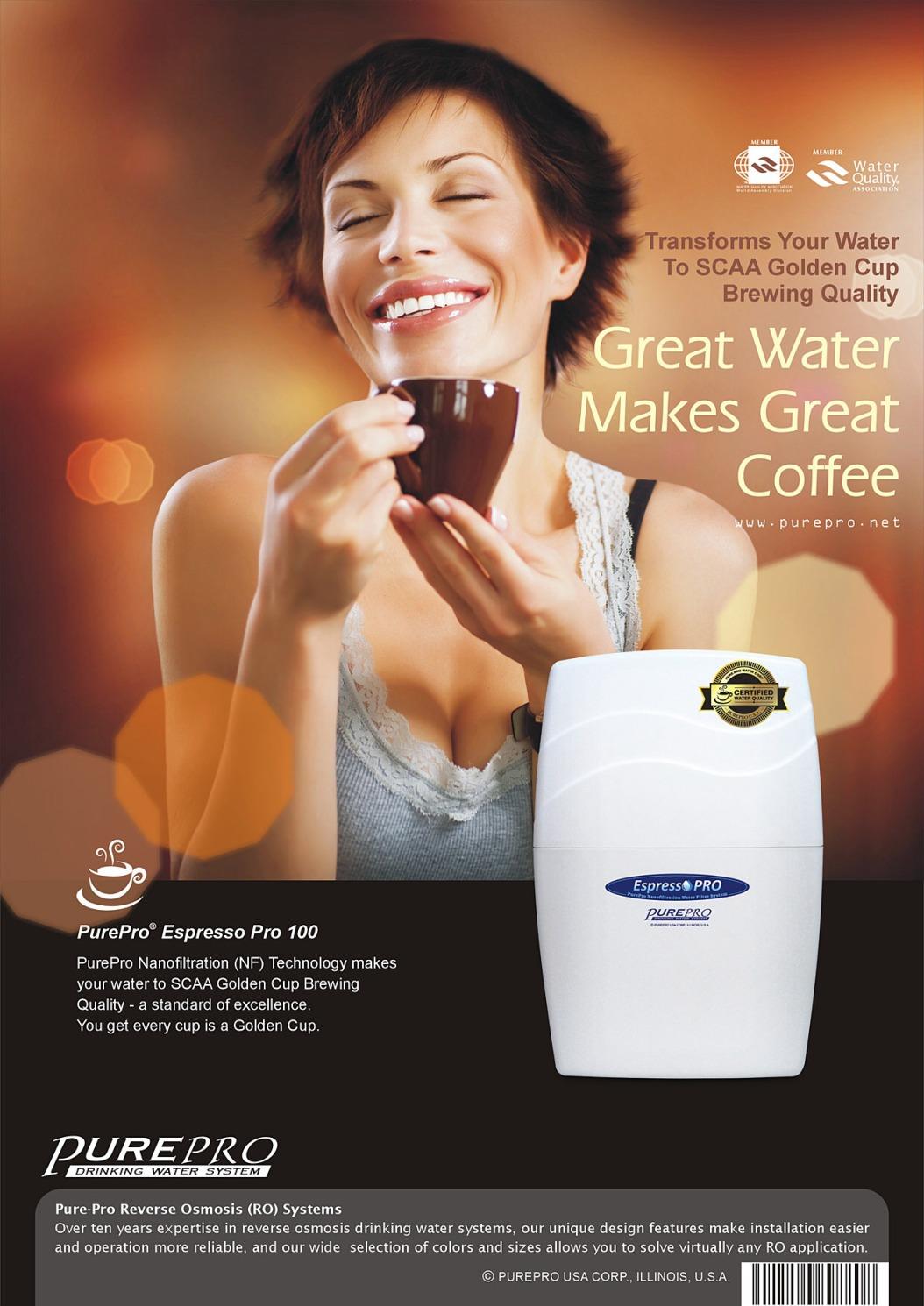 PurePro® Nanofiltration (NF) Water Purification Espresso Pro 100 GPD
