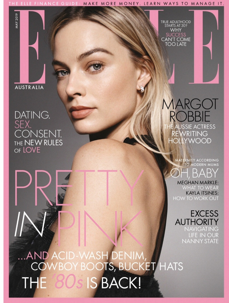 Margot Robbie in ELLE Australia May 2019