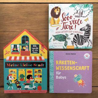 Neue Pappbilderbücher ab 2 Jahren, besondere Bücher ab 24 Monaten, Rezension auf Kinderbuchblog Familienbücherei