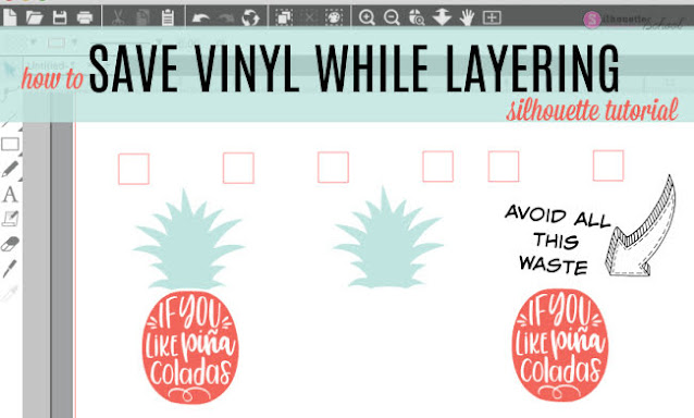 vinyl, 2 color vinyl decals, Adhesive vinyl, silhouette 101, silhouette america blog