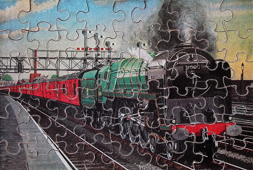 STEAM TRAINS AND JIGSAW PUZZLES: 2014