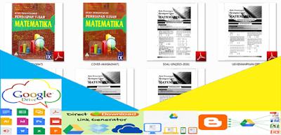 Buku Pemantapan Ujian Nasional 2017 Jenjang SMP Mata Pelajaran Matematika